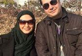 عکس دونفره لعیا زنگنه در کنار همسرش واقعی اش