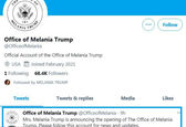 ملانیا ترامپ این روزها چی کار می کند؟+عکس