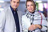 تیپ شیک شبنم قلی خانی در کنار همسرش +عکس