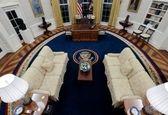 دکوراسیون جدید اتاق بیضی کاخ سفید+عکس