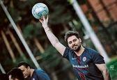 دانیال عبادی در لباس فوتبالیست ها+ عکس