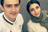 نامزدی سردار آزمون با هستی مهدویفر!+عکس