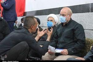 گلایه های مرد خوزستانی به قالیباف +عکس