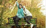 خنده و جلف بازی جوانه دلشاد در پارک +عکس