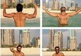 عشقوحال فرهاد مجیدی در دوبی!+عکس