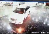 ورود مرد هندی با خودرو به بیمارستان کرونایی! +عکس