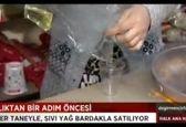 خرید روغن با لیوان یکبار مصرف در ترکیه +فیلم