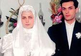 لعیا زنگنه در لباس عروس +عکس