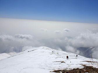 آلودگی شدید هوای تهران از ارتفاعات توچال +عکس