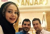 الناز حبیبی در طلا فروشی آقای بازیگر +عکس