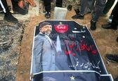 مزار علی انصاریان پس از خاکسپاری +عکس