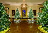 تزیینات بی نظیر کاخ سفید برای کریسمس +عکس