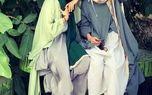 خنده های جلف و زننده الناز حبیبی در پارک +عکس
