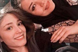 شکم بالاآمده فرشته حسینی 2هفته بعد عروسی!+عکس