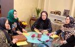 شب آخر شام ایرانی در منزل مریم امیرجلالی +عکس