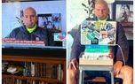 پوشش عجیب فرماندار پنسیلوانیا+عکس