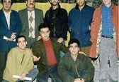 عکس قدیمی مهران مدیری کنار رفقا +عکس