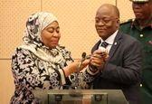 اولین رئیسجمهور زن در آفریقا +عکس