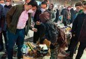 خرید ترقه آقای وزیر در بازار همدان +عکس